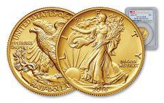 2016-W Half Dollar Gold Walking Liberty PCGS SP69 First Strike