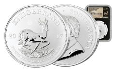 2017 South Africa Silver Krugerrand NGC SP70 FDI - Black