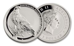 2017 Australia 1 Dollar 1-oz Silver Wedge-Tailed Eagle Uncirculated