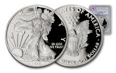 2017-W 1 Dollar 1-oz Silver Eagle Proof PCGS PR69DCAM First Strike