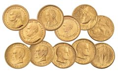 1903-1926 U.S. Gold Commemorative PCGS MS64-MS66 11-Pc Set