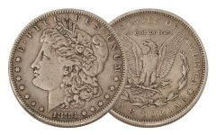 1883-P Morgan Silver Dollar VF