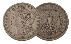 1884-O Morgan Silver Dollar VF