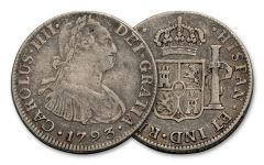 1772-1825 Spain Silver 2 Reales VF