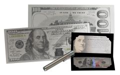 2017 100 Dollar Benjamin Franklin Silver Currency Strike