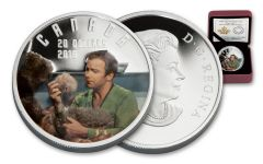 2016 Canada 20 Dollar 1-oz Silver Star Trek Troubles With Tribbles Gem Proof