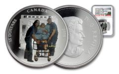 2016 Canada 15 Dollar Silver Heroes Paramedics NGC PF70UCAM Early Releases