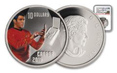 2016 Canada 10 Dollar Silver Star Trek Scotty NGC PF69UCAM Early Release