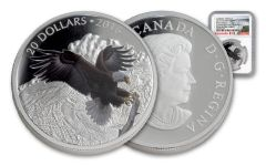 2016 Canada 20 Dollar 1-oz Silver Baronial Eagle NGC Early Releases PF69UCAM
