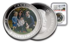 2016 Canada 20 Dollar 1-oz Silver A Royal Tour NGC PF70UCAM