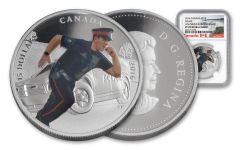 2016 Canada 15 Dollar Silver Heroes Police NGC PF70UCAM Early Releases