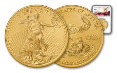 2017 50 Dollar 1-oz Gold Eagle NGC MS69 Eagle