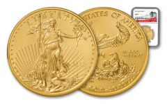 2016 50 Dollar 1-oz Gold Eagle NGC MS69 225th Anniversary