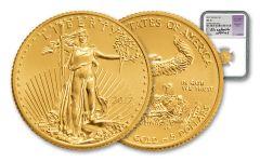 2017 5 Dollar 1/10-oz Gold Eagle NGC MS70 Jones