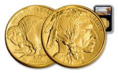 2017 50 Dollar 1-oz Gold Buffalo NGC MS69 Buffalo Black