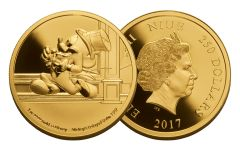 2017 Niue 250 Dollar 1-oz Gold Mickey Delayed Date Proof