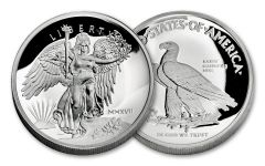 2017 1-oz  Silver Saint Gauden's Winged Liberty Ultra High Relief Proof
