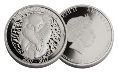 2017 Australia 10 Dollar 10-oz Silver Koala Proof