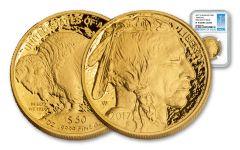 2017-W 50 Dollar 1-oz Gold Buffalo Proof NGC PF70UCAM FDI