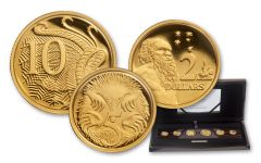 2017 Australia Gold Annual Proof Set