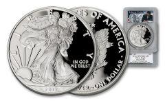 2017-W 1 Dollar 1-oz Silver Eagle PCGS PR70 First Strike - Reagan Liberty Coin Act