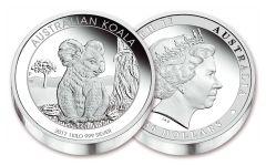 2017 Australia 30 Dollar Kilo Silver Koala Proof