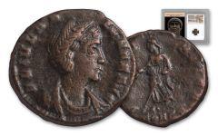 Ancient Roman Bronze St Helena NGC CH VF