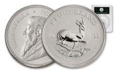 2017 Silver Premium Krugerrand PCGS SP69 Springbok