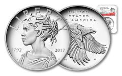 2017-P 1-oz Silver American Liberty Medal NGC PF69UCAM - Early Release - 225th Anniversary