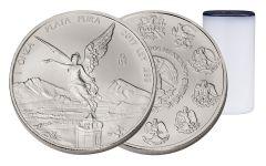 2017 1-oz Silver Libertad Brilliant Uncirculated 25 Piece Roll- Vault Reserve