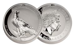 2017 Australia 8 Dollar 5-oz Silver Wedge-Tailed Eagle High Relief Proof