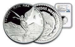 2017 Mexico 1/4-oz Silver Libertad NGC PF70UC- First Releases