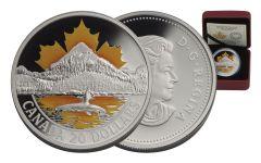2017 Canada 20 Dollar 1-oz Silver Pacific Coast Proof