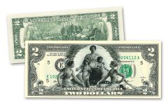 2 Dollar Educational Series Commemorative Note