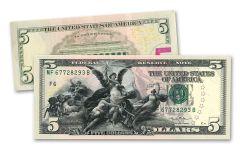 5 Dollar Educational Series Commemorative Note