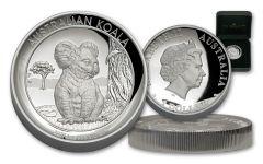 2017 Australia 1 Dollar 1-oz Silver Koala High Relief Proof