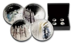 2017 United Kingdom 5 Pound Silver A Portrait Of Britain Proof Set