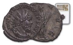 260-269 AD Roman Bronze South Petherton Hoard Postumus NGC AU