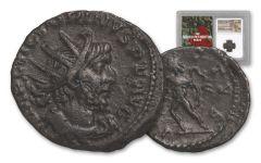 253-271 AD Roman Bronze South Petherton Hoard Victorinus NGC Choice XF
