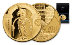 2017 France 200 Euro 1-oz Gold Masterpieces Of The Museums Venus De Milo Proof
