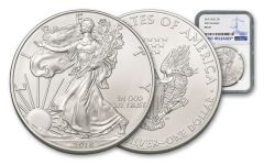 2018 1 Dollar 1-oz Silver Eagle NGC MS70 First Releases