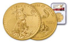 2018 50 Dollar 1-oz Gold Eagle NGC MS70 First Releases Eagle Label