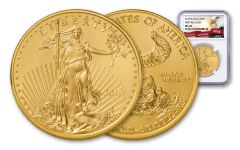 2018 50 Dollar 1-oz Gold Eagle NGC MS69 First Releases Eagle Label