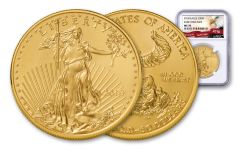 2018 50 Dollar 1-oz Gold Eagle NGC MS70 Early Releases Eagle Label
