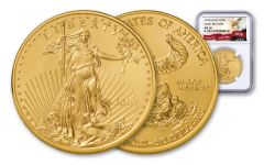 2018 50 Dollar 1-oz Gold Eagle NGC MS69 Early Releases Eagle Label