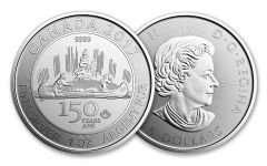 2017 Canada 5 Dollar 1-oz Silver Voyageur 150th Special Edition BU