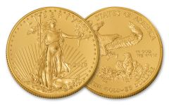 2018 25 Dollar 1/2-oz Gold Eagle BU