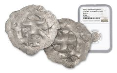 1035-1087 Normandy Silver Rouen Denier Of William NGC XF45