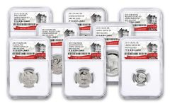 2017-S U.S. Limited Edition Silver Proof Set NGC PF70UCAM FR 225th Anniversary