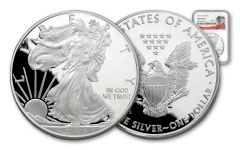 2017-S 1 Dollar 1-oz Silver Eagle NGC Gem Proof 225th Anniversary